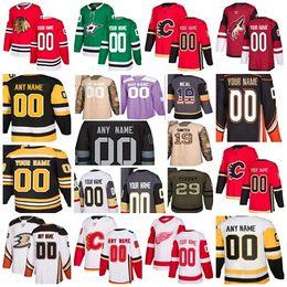 Novo Fornecedor Goalie Cortar 30-Teams todos Personalizados Montreal Canadiens Vegas Cavaleiros De Ouro Casa Longe Qualquer Nome NÃO. camisas de design próprio de