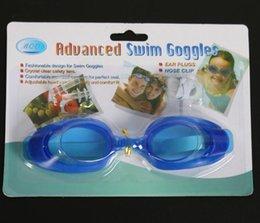 occhiali blu rossi adulti Sconti Divertimento in acqua! 7 colori Gli occhiali per bambini HD con specchio per nuoto non sfuggono all'acqua per proteggere gli occhi