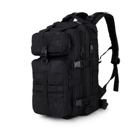 Wholesale tactical backpacks for men - 34L Military Tactical Assault Pack Backpack Army Molle Waterproof Bug Out Bag Small Rucksack for Outdoor Hiking Camping Hunting