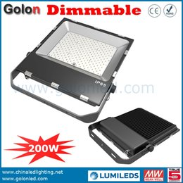 Wholesale Gold Prices Year - China Gold supplier factory price high lumens 200W 21000Lm Meanwell driver 5 years warranty 200 watts dimmable led flood light