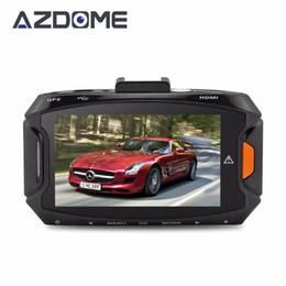 """Wholesale Car Dvr Ambarella Gps - Azdome GS90A Car DVR Ambarella A7L50 Car Video Recorder Dash Cam Full HD 1296P 30fps 2.7""""lcd G-sensor HDR H.264 Camera GPS"""