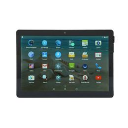 2g comprimidos Rebajas 10.1 pulgadas Tabletas Estudiante Tableta Pantalla HD Bluetooth 2G + 32G Andriod 7.0 4500mAh 1280 * 800 OTG tableta de doble cámara PC