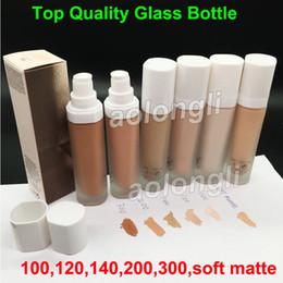 Wholesale dhl base - Glass Bottle FB Pro Filt'r Soft Instant Retouch Primer Beauty Matte Foundation Concealer 6Colors 32ML Makeup soft matte base retouch DHL