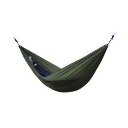 Giardino di sopravvivenza online-Amaca da campeggio portatile da 2 persone amaca da paracadute esterna per il tempo libero da campeggio Escursione doppia da sospensione 270cmx140cm