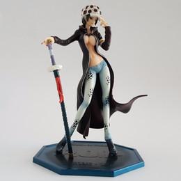 Wholesale Trafalgar Law Toys - Toys Hobbies Action Toy Figures One Piece Action Figure Trafalgar Law Girl Ver. PVC Figure 210mm POP One Piece Girl Law Anime