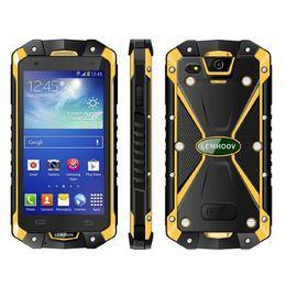 смартфон octa core 2gb Скидка Оригинал LEMHOOV L15 4.5 Дюймов 1 ГБ RAM 8 ГБ ROM IP68 Водонепроницаемый Прочный Смартфон С Walkie Talkie