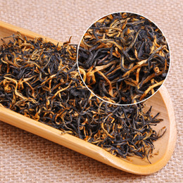 chá emagrecimento china Desconto 250g Promoções! Novo chá Mel preto chá premium pequenas dicas amarelas top Primavera granel! Chá chinês de alta qualidade! Frete grátis