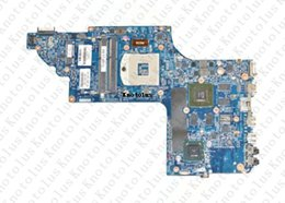 Wholesale motherboards for hp - 665348-001 for HP DV6 DV6-6000 laptop motherboard HM65 HD64901G DDR3 Free Shipping 100% test ok