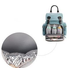 46bb1e2f536 discounted branded handbags Promo Codes - Discount Mummy Maternity Nappy  Bag Brand Large Capacity Baby Bag
