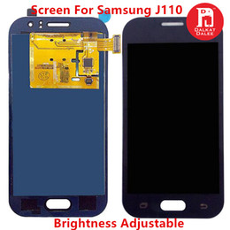 touch screen j1 Sconti J110 TFT per Samsung Galaxy J1 Ace J111 LCD Touch Screen Digitizer Assembly per J1 Ace Duos può regolare la luminosità
