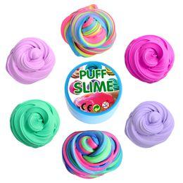 Coton boue visqueuse PUFF SLIME pâte à modeler bricolage poké flaques décompression évent jouets Coloré pâte à modeler epacket gratuit ? partir de fabricateur
