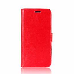 telefone inteligente a prova de choque à prova d'água Desconto Caso Para S9 Luxo de Alta Qualidade PU Leather Flip Carteira Stand Phone Case dhl frete grátis