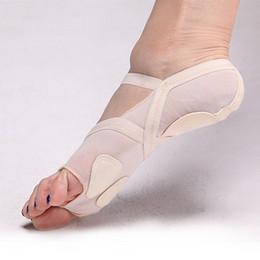 2019 dedos sapatos Novos Sapatos de Dança Do Ventre New Unisex Trecho Dedos Wearable Soft Bottoms Calçados Sapatos de Dança Prática Sapatos dedos sapatos barato