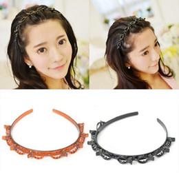 Canada Hairband cerceau Bandes de mode bandeau pour femme fille cheveux accessoires porte-casque évider conception Offre