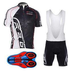 Wholesale felt bikes - 2017 FELT cycling jersey gel pad bib shorts Maillot Ropa Ciclismo quick dry pro bike clothes men summer bicycle clothing