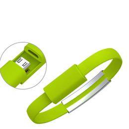 Mejor cable de carga usb online-Mejores ventas de línea de colorido para el cable de alimentación usable pulsera pulsera de cable cargador mini androide micro USB de carga rápida línea de datos para el viaje