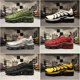 Wholesale Basketball Shoes Tn - Hot Selling Drop Shipping Famous Air Sport TN Mens Athletic Sneakers Sports Running Shoes Size 40-45