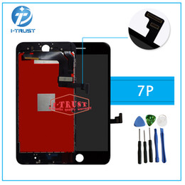 Wholesale Free Testing - For iPhone 7 Plus LCD No dead Pixel LCD Display Touch Screen 100% Tested Working Replacement Parts+Repair Tools With Free Shipping