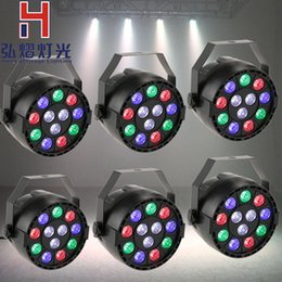 Canada 6 pcs / lot Hot grossiste chinois Pro Light Par LED 12x3W RGBW barre de couleur led barre dmx 512 intérieur / extérieur par la lumière Offre