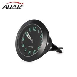 Messgeräte Auto-ersatzteile Leucht Auto Uhr Mini Digitale Uhren Quarz Autos Decor Air Vent Clip Uhr In Die Auto Uhr Autos Interior Zubehör