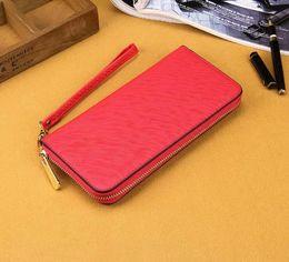 Wholesale Good Quality Long Wallet Women - 2018 luxury brand good quality women pu leather wallet lady ladies woman long purse wallet