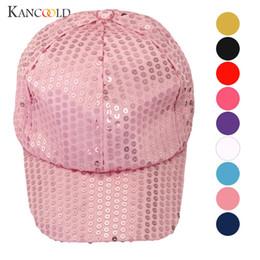 Caps a feminine cap black hat solid dad hat drake autumn sun female summer  hiphop Snapback visor Sequin baseball caps DC28A fc295faef82d