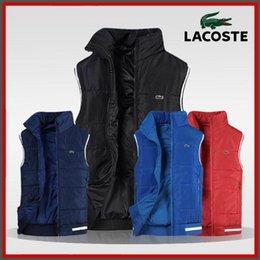 Polo pour hommes en Ligne-XL-4XL nouvelle veste de coton polo crocodile 424 # veste veste hommes veste polo de coton hommes vêtements chauds