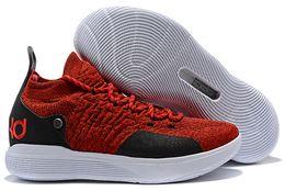 2019 Новый KD 11 EP Белый Оранжевый Пена Розовый Параноидальный Oreo ICE Баскетбол Детская обувь Кевин XI KD11 Мужские кроссовки кроссовки от Поставщики кд мужская обувь белая
