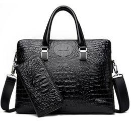 2019 sacos de negócios de luxo Nova bolsa de Luxo Chegada Famosa Marca Homens de Negócios Maleta Saco de PU de Couro Bolsa Para Laptop Pasta Mala de Couro PU sacos de Ombro sacos de negócios de luxo barato