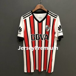 Wholesale Soccer Jersey River - River Plate Home Away Third Football Soccer Jerseys White Red Shirts Martinez Scocco
