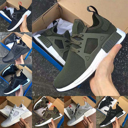 Wholesale Japanese Laced Shoes - Popular 2018 new NMD XR1 runner-up PrimeKnit MasterMind Japanese women's men's luxury designer running shoes sports shoes