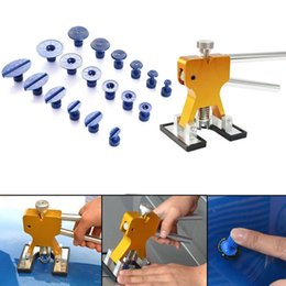 Wholesale Dent Repair Tools Kit - Car Paintless Removal Dent Repair Puller Tools Dent Lifter Hand Tool Set Tool kit
