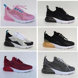 best sneakers 1455a 28b64 Infant 270 Enfants chaussures de course Noir Blanc Dusty Cactus 27c en  plein air enfant en bas âge athlétique garçon fille Enfants sneaker