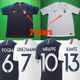 e2edbeaa67488 camisetas de fútbol de equipos nacionales Rebajas Francia camisetas de  fútbol 2018 France soccer jerseys copa