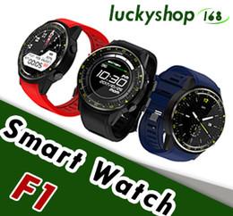 2019 умные часы f1 TenFifteen F1 Спорт Умные часы GPS Смарт Часы-Телефон 1.3 дюймов MTK2503 Двойная Камера Beidou Пульса Сна Монито 1 шт.