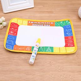 Gekritzel zeichnung spielzeug online-Gekritzel-Malerei-Wasser-Zeichnungs-Buch-Wasser-Farbton-Zeichnungs-Matte + Magic Water Pen Kids Educational Drawing Toys