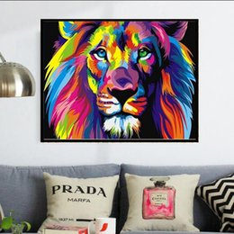 habitaciones forradas Rebajas Lotes a granel 40 * 30 cm Colorful Line Full 5D kit de pintura diamante Decoración Del Hog Home Decor Wall Art Square Diamond Room Decor
