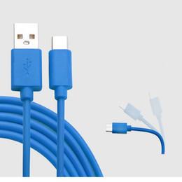 Colorido USB tipo C Cable 1M Micro USB Cable Fast Cargador Sync Data Adaptador de cable USB para teléfonos celulares universales Accesorios desde fabricantes