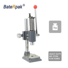 MP-2 Prensa manual, BateRpak Máquina de prensa manual de escritorio de alta resistencia, de alta calidad, resistente, máquina de perforación pequeña, estampado manual de machie desde fabricantes