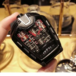 Wholesale Led Car Watch - AAA Luxury Brand Watch Super car engine Style Nature Man WristWatches Quartz watches free shipping MP-05