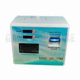 Mini dispensador automático de monedas con cambiador de fichas y aceptador de billetes original de ICT para la venta desde fabricantes