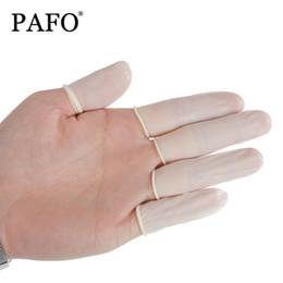 50 pcs Jetable Anti Statique En Caoutchouc Latex Finger Cots Sourcils Extension Gants Pratique Hors Cils Industriel Extension Outil Accessoires ? partir de fabricateur