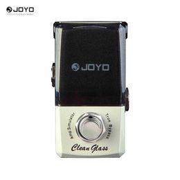 Wholesale Joyo Multi Effect Pedal - Joyo jf-307 CleanGlass simulador de amplificador de la serie ironman mini pedal efecto de vidrio limpio