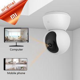 Ночные прицелы камеры наблюдения ptz онлайн-Xiaomi Главная безопасность PTZ-камера 1080P Smart Camera интеллектуальное обнаружение ночного видения двусторонняя голосовая связь Wifi Android 4.4 IOS 7.0