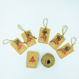 c92b5cb2a25 metal ornamentos de navidad Rebajas Santa llave mágica para Navidad niños  regalos colgantes decoraciones del árbol