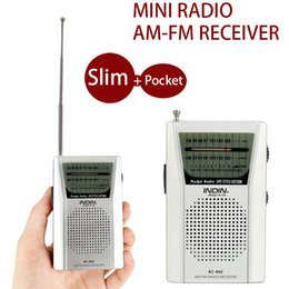 Wholesale function music - Old Man Portable Radio Receiver Multi-Function AM FM Radio Speaker Music MP3 Receiver for Parents Birthday Present