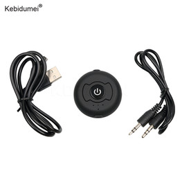 Wholesale Bluetooth Audio Transmitter Dongle - kebidumei Car Audio Player Bluetooth Transmitter Wireless Car Kit HandsFree Music Stereo Dongle Adapter H-366T