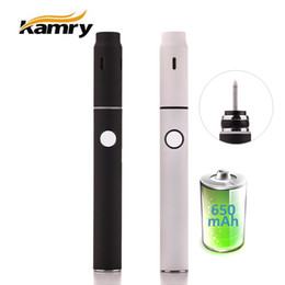 Wholesale E Cig Dry - Authentic Kamry GXG i1S Dry Herb Vaporizer With Double-Side Heating E Cigarettes Kits 900mAh Portable Starter Kits For IQOS E-cig Vape Pen