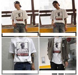 Wholesale Rapper T Shirts - NEW 2pac t shirt tupac T-Shirt rapper Biggie hip hop rap music Tops MEN women Casual Short sleeve Tee S-XXL