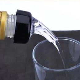 Wholesale Drinks Dispenser Wholesale - New 30mL Quick Shot Spirit Measure Measuring Pourer Drinks Wine Cocktail Dispenser Home Bar Tools CCA8455 100pcs